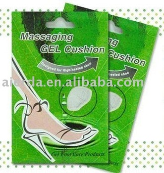 Alibaba China Gel Silicone Foot Pad Shoe Insole