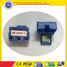 Compatible color toner chips MX-C38 for Sharps DX-C380 381 GT version