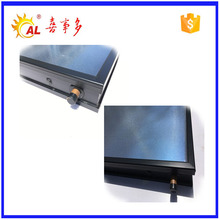 Flat panel solar water heater collector in China
