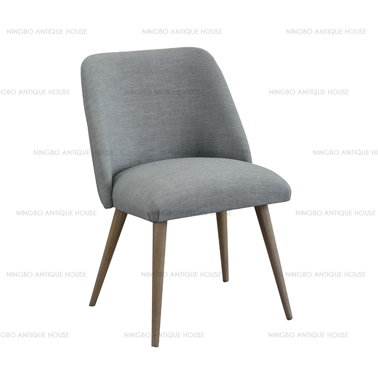 reproduction Oak+fabric home furniture chair