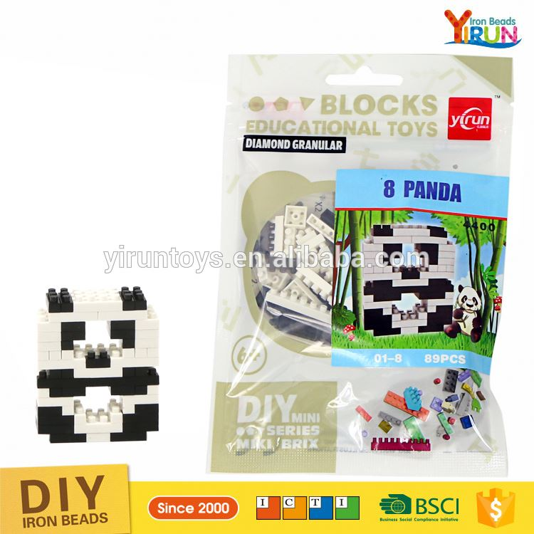 Factory wholesale educational toys 2017 diamond mini digital nano intelligence game block