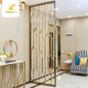Room divider metal decorative screen panel stainless steel modern fashion living room furniture room divider