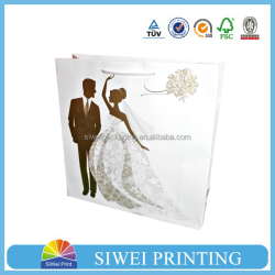 2015 Luxury Natural Decorative Eco-Friendly field paper bag photograph seller