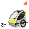 Cheapest Baby Trailer assessed product by Alibaba&TUV,with EN15918:2011&EN1888 CE ISO9000(BT004)