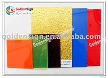 cast acrylic plastic panel