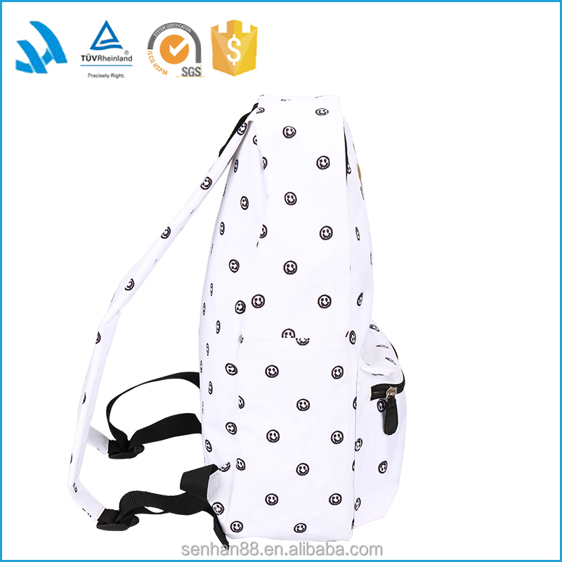 Hot new products for 2015 fashion teenage girl school backpack bags