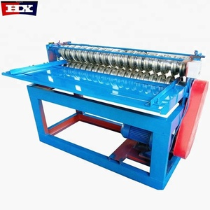 mini color steel plate coil slitting machine