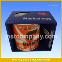 Creative Promotion Ceramic Mug with Music