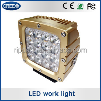 Ripdark patented product high end 80w led driving light, 80w led working light, 80w led tuning light for Forest machinery