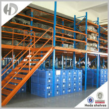Warehouse storage rack tubular racking system shelves for warehouse