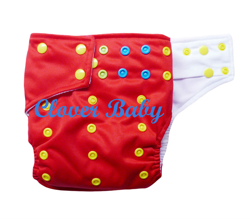 Cloth Diaper - Colorful Snap (CD-CS-P2)
