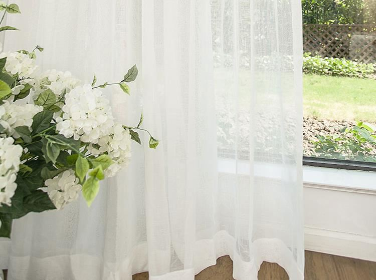fabric curtain fancy red flower curtain fabric luxury lace curtain
