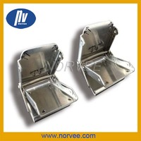 china auto precision metal stamping parts stainless steel belt buckles