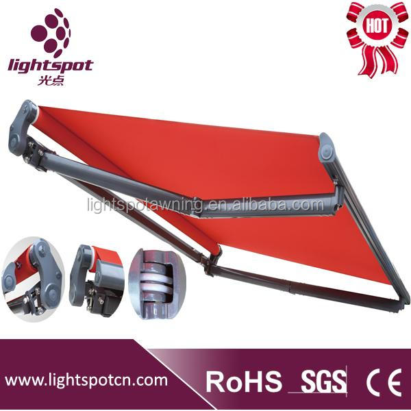 Cassette folding arms awnings for balcony used