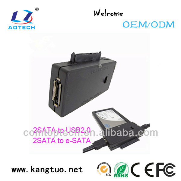 high quality external esata to sata cable made in china