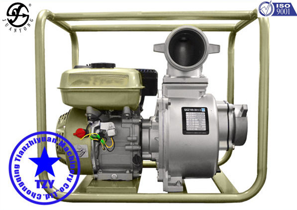 5hp diesel engine water pump with aluminum pump body for irrigation