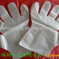 Disposable Plastic Gloves One Off Glvoes