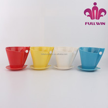 plastic flower plant pot plant disposable plant pot