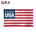 Custom logo outdoor political campaign flag of the united states