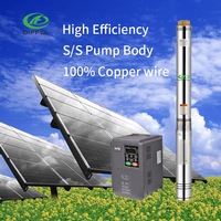 3 inch solar power home system deep well water pump