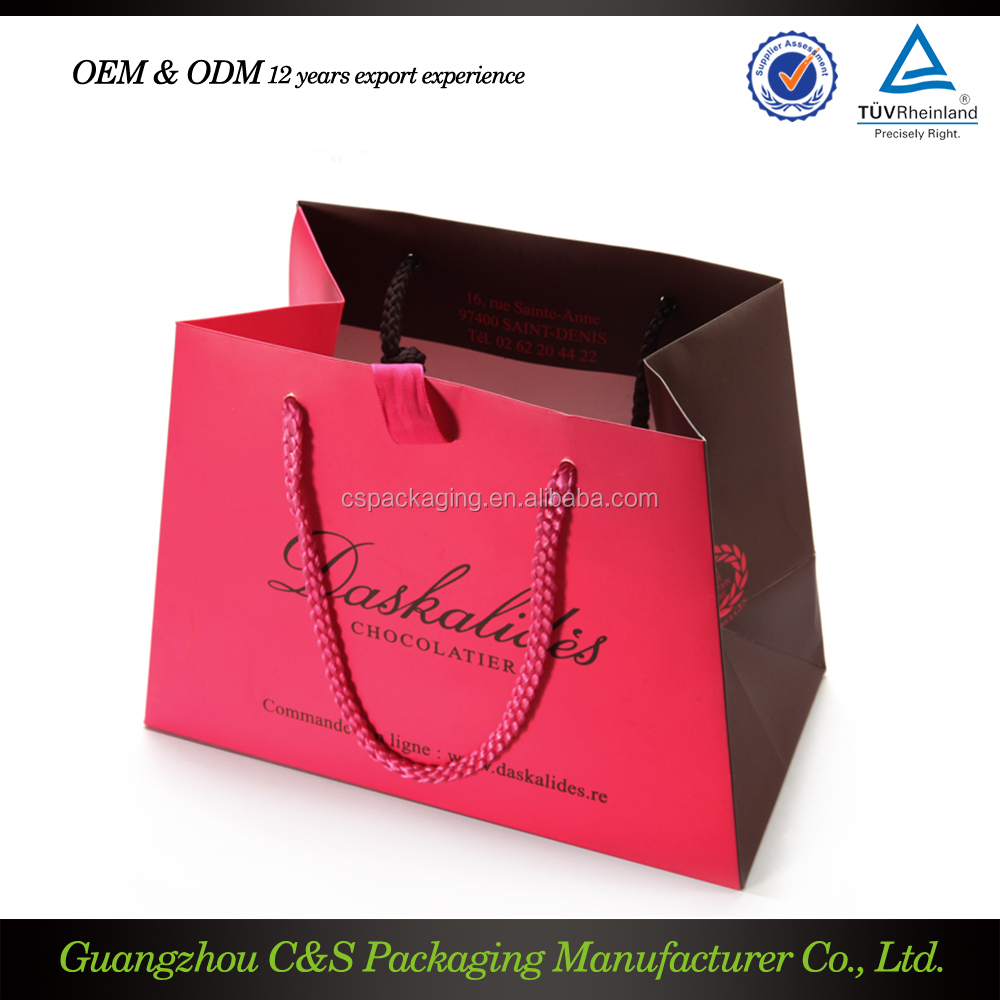 Photo printed shopping bags buy direct from china manufacturer