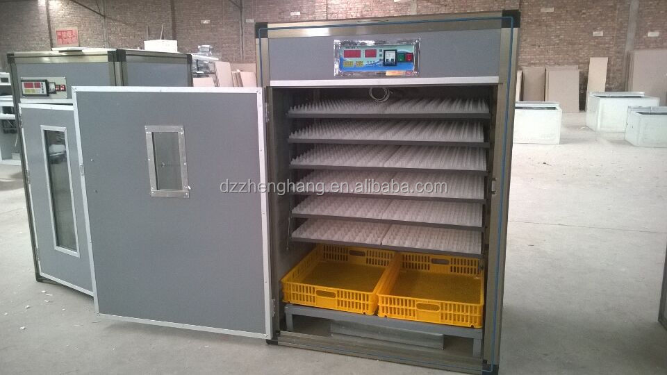 Solar egg incubator/1000 egg incubator for sale/egg hatching machine/incubator CE approved