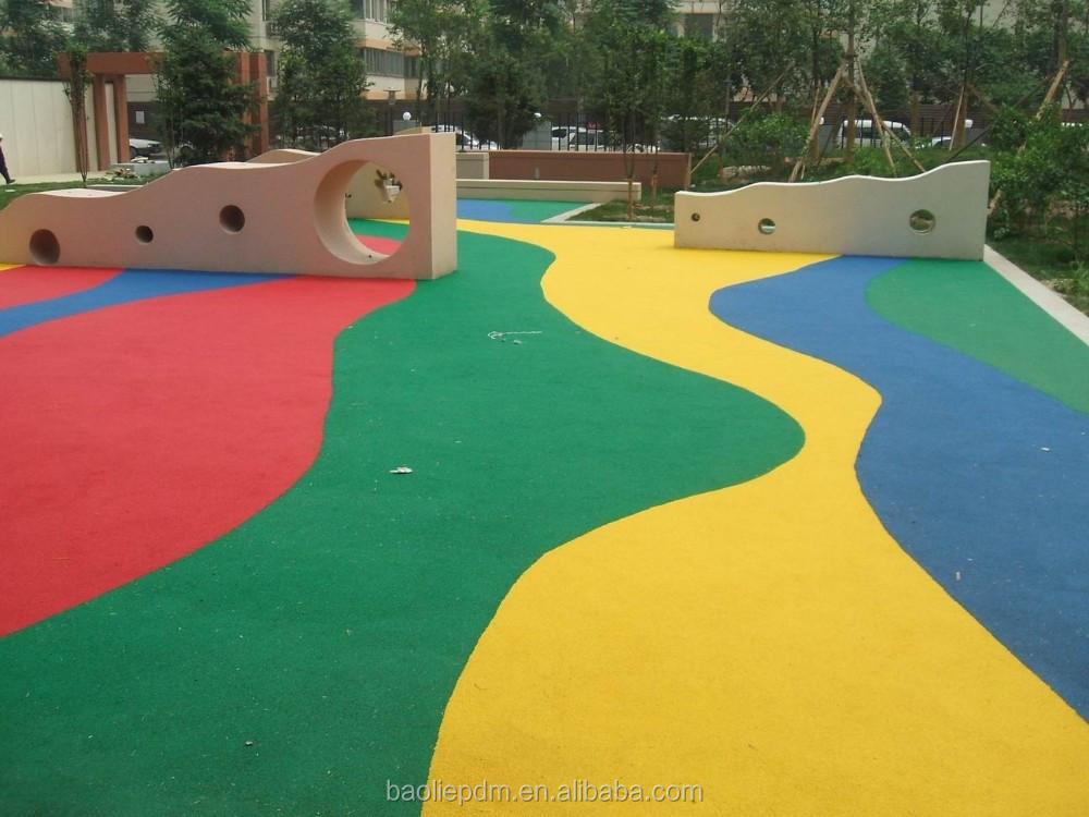 Rubber Playground Playground Rubber Floor Rubber Flooring