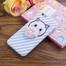 New candy color case phone cover clear soft TPU squishy phone case for iPhone 6 / 7 accessories