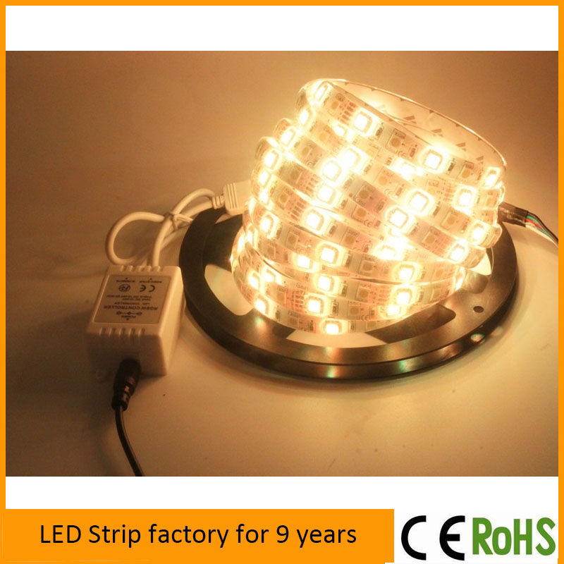 Super bright samsung 5630 led strip with 60leds/m CRI 85 warm pure cool white color,DC12V Warm white smd 5630 led strip