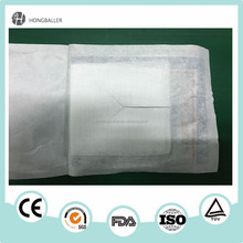 Medical antiseptic alcohol prep pads for disinfecting and cleaning skin