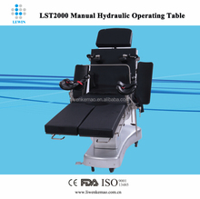 Manual operating table dimension 2050*500(mm)