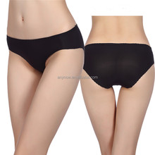 Sexy lady purified cotton Seamless Pure Color low-waisted Women Underpants