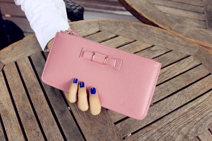 Good looking long wallets fashion design PU leather women & lady purses