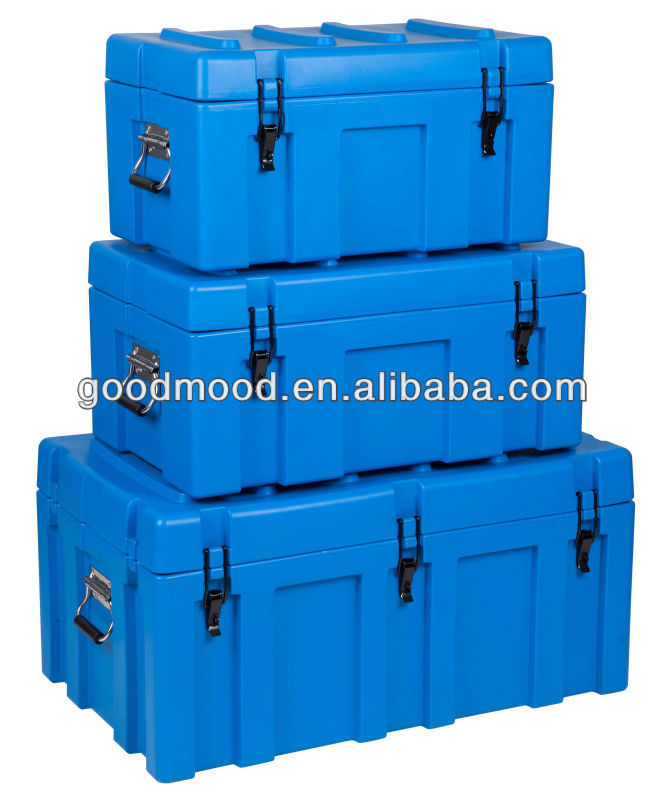 LLDPE high quality rotomolded computer or electronic equipment storage case
