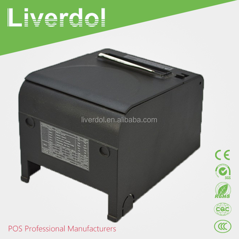 "3"" 80mm POS Ticket Thermal Barcode Printer with auto cutter"