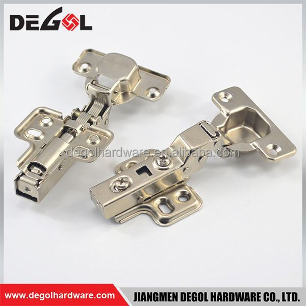 New product iron clip on 45 angle cabinet hinges