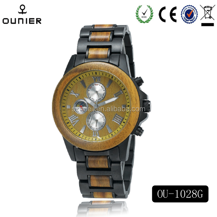 Hot Marketing Men Charming Vogue Wooden Wrist Watch