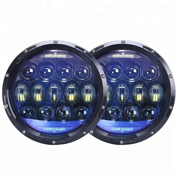 "Brightest 6000lm 130W 7"" round led high low beam headlight for jeep JK CJ TJ"