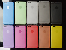 Various colors ultra slim PP clear cell Phone case cover for iPhone 6 wholesale