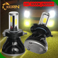 Auto parts DRL daytime running lights 30w 3.5 inch LED fog light/fog lamp for peugeot 207