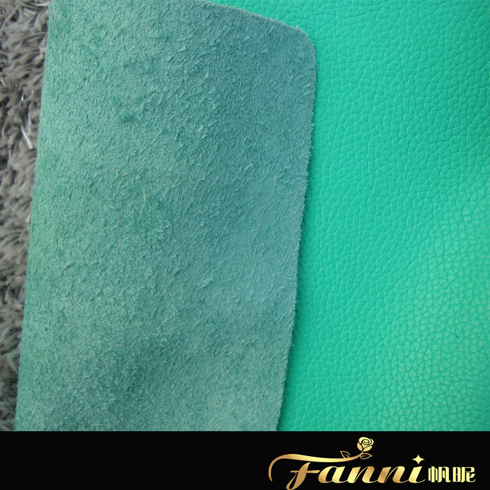 cow skin lichee grain genuine leather for sofa and car seat