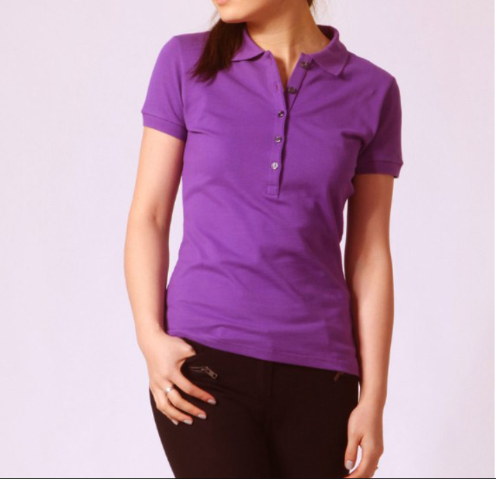 Custom new design high quality woman dry fit polo shirt with wholesale cheap price