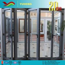 2016 new product good price design pictures folding glass windows