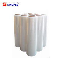12 micron center fold heat shrink pof cling film for food packing