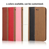 wood flip PU case cover with card holder for cell mobile smart phone for Gionee Elife s7 S E M P V F plus 9 8 7 6 5 4 3 2