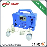 small complete solar system kit 20w 30W for light best price solar panel from made in China