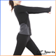 Yat sports factory provides Customization women yoga wear 95% cotton 5% elastane t shirt