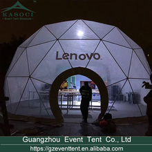 8m outdoor trade show party geodesic dome tent