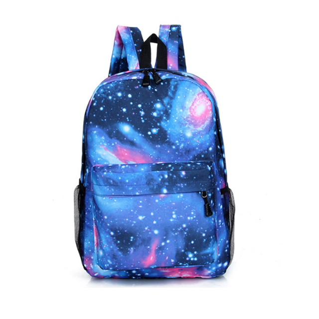 Stylish Custom Digital Printing School Bag Stars Laptop <strong>Backpack</strong>