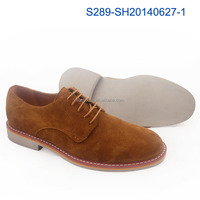 2015 new design comfortable suede Italian casual men shoes